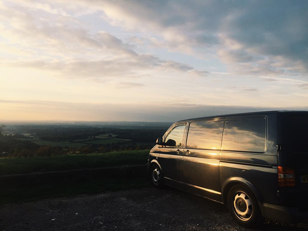 That time I lived in a van in London for 1 year 3 months 24 days